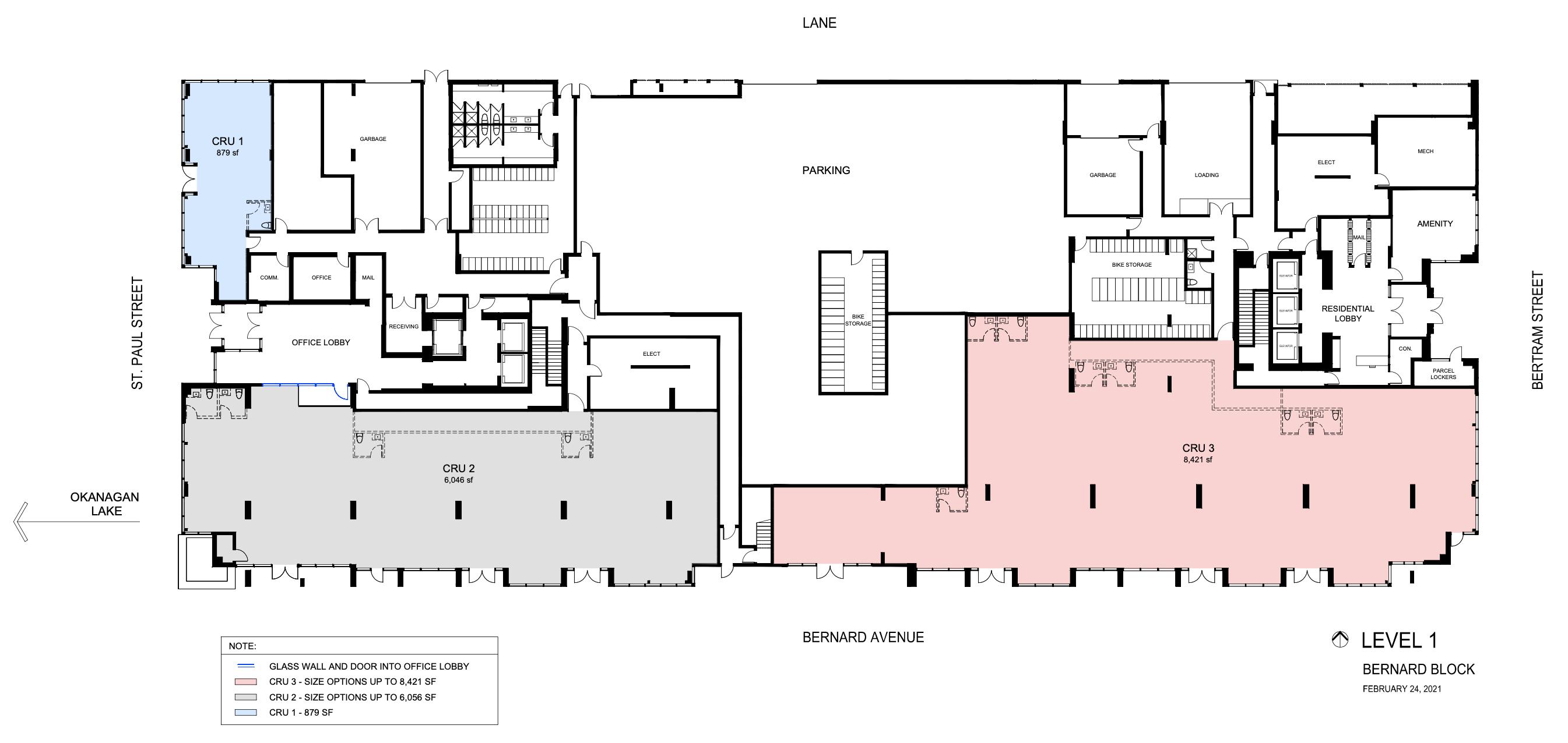 Stacking Floorplans Floor 1