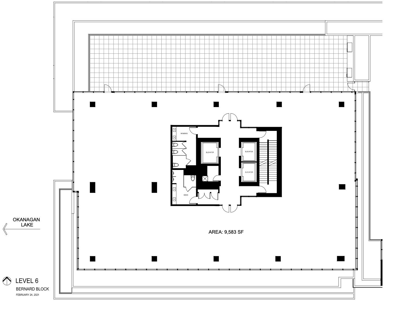 The Block Level 6 Floorplan