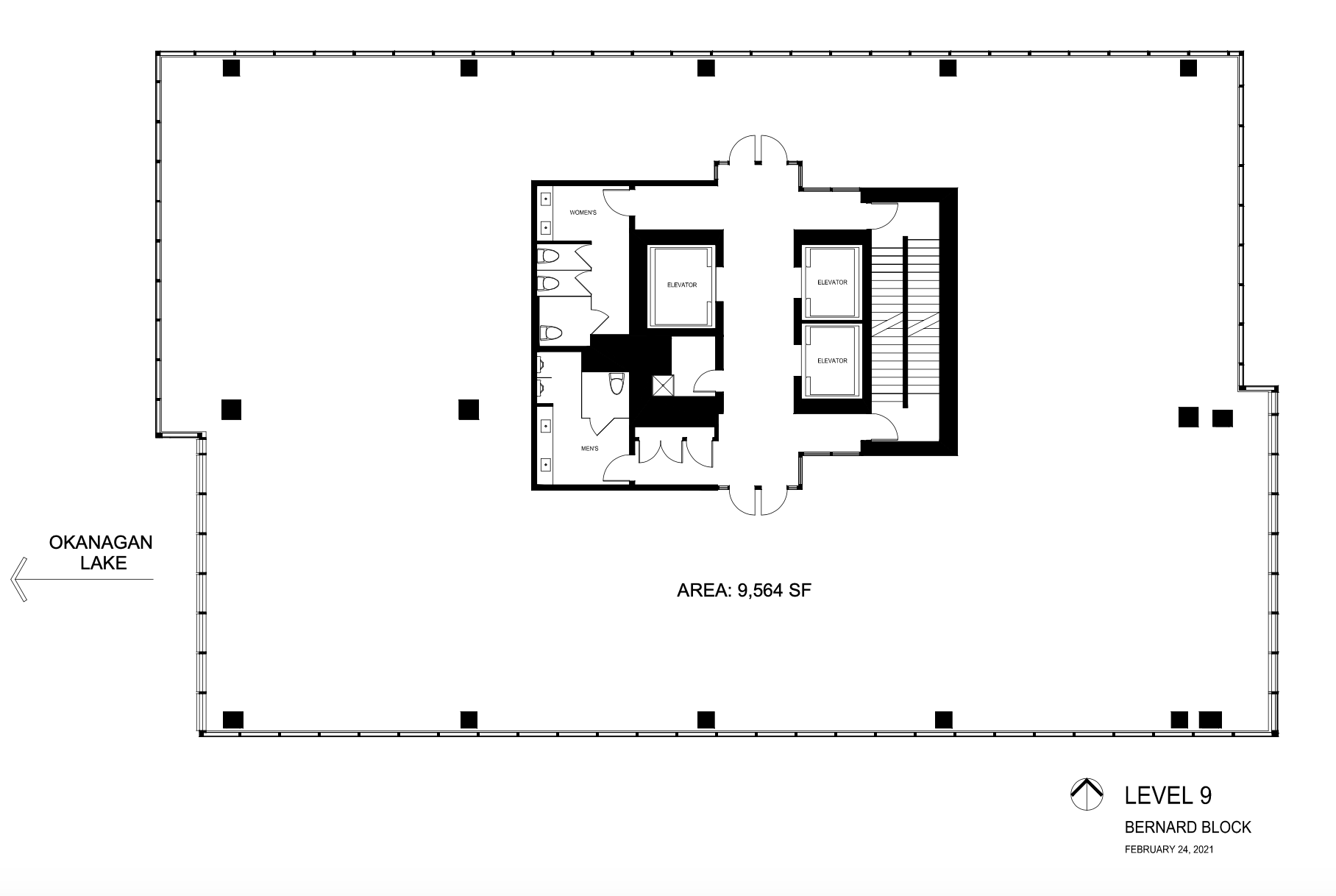 The Block Floorplan Level 9