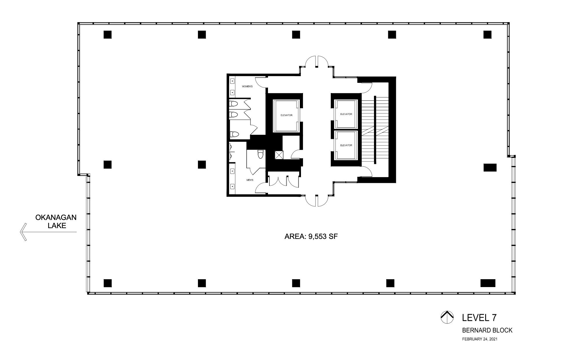 The Block Floorplan Level 7